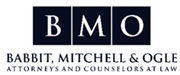 Babbit, Mitchell & Ogle attorneys in OKC logo